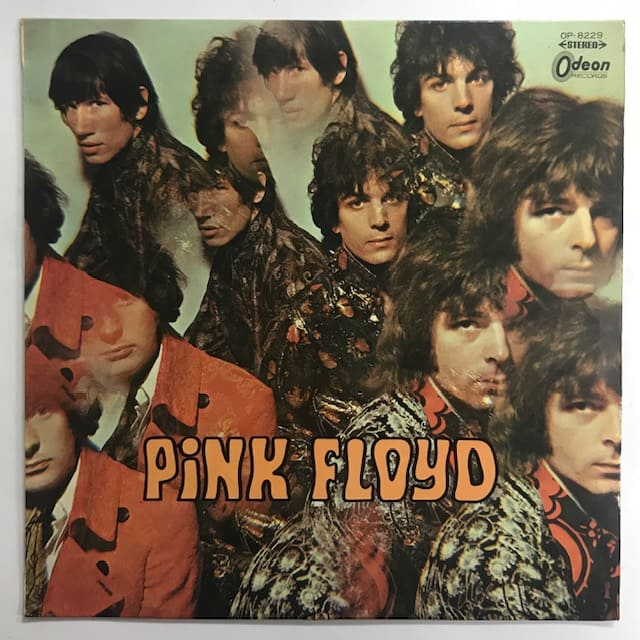 Pink Floyd / The Piper At The Gates Of Dawn / OP 8229 / 赤盤/帯無し