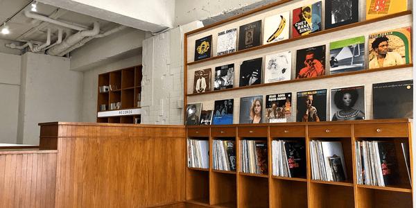 セタガヤレコードセンターの店内写真